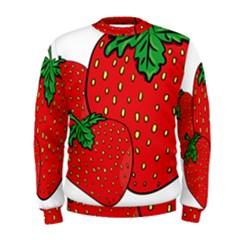 Strawberry Holidays Fragaria Vesca Men s Sweatshirt
