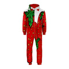 Strawberry Holidays Fragaria Vesca Hooded Jumpsuit (kids)