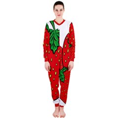 Strawberry Holidays Fragaria Vesca Onepiece Jumpsuit (ladies)
