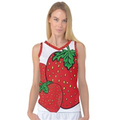 Strawberry Holidays Fragaria Vesca Women s Basketball Tank Top