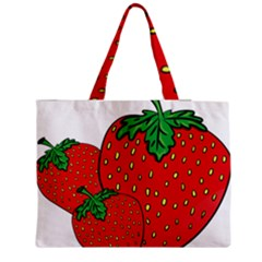 Strawberry Holidays Fragaria Vesca Medium Tote Bag