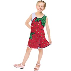 Strawberry Holidays Fragaria Vesca Kids  Tunic Dress