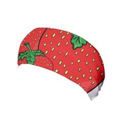 Strawberry Holidays Fragaria Vesca Yoga Headband