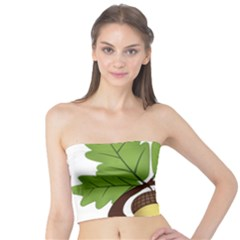 Acorn Hazelnuts Nature Forest Tube Top