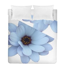 Daisy Flower Floral Plant Summer Duvet Cover Double Side (full/ Double Size)