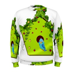 Bluebird Bird Birdhouse Avian Men s Sweatshirt