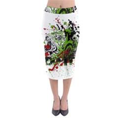 Do It Sport Crossfit Fitness Midi Pencil Skirt