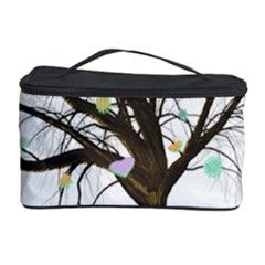 Tree Fantasy Magic Hearts Flowers Cosmetic Storage Case
