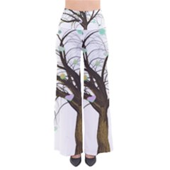 Tree Fantasy Magic Hearts Flowers Pants