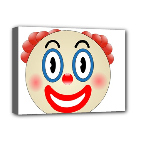 Clown Funny Make Up Whatsapp Deluxe Canvas 16  X 12