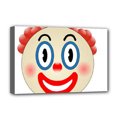Clown Funny Make Up Whatsapp Deluxe Canvas 18  X 12