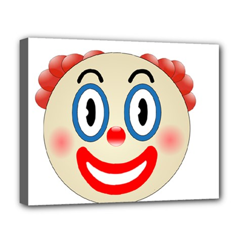 Clown Funny Make Up Whatsapp Deluxe Canvas 20  X 16
