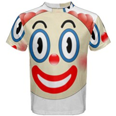 Clown Funny Make Up Whatsapp Men s Cotton Tee