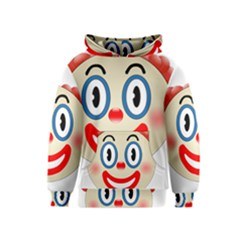 Clown Funny Make Up Whatsapp Kids  Pullover Hoodie