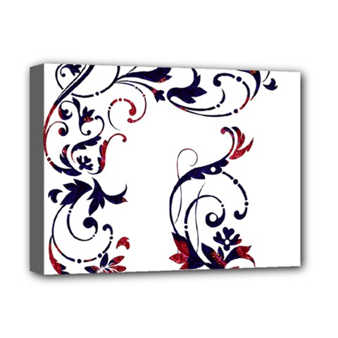 Scroll Border Swirls Abstract Deluxe Canvas 16  X 12