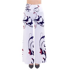 Scroll Border Swirls Abstract Pants