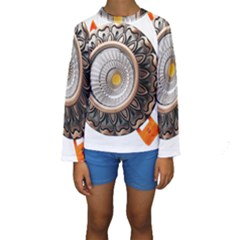 Lighting Commercial Lighting Kids  Long Sleeve Swimwear