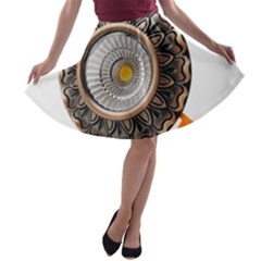 Lighting Commercial Lighting A-line Skater Skirt