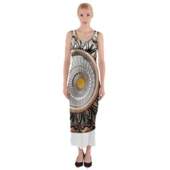 Lighting Commercial Lighting Fitted Maxi Dress