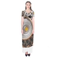 Lighting Commercial Lighting Short Sleeve Maxi Dress