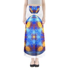 Easter Eggs Egg Blue Yellow Maxi Skirts