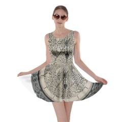 Clock Celtic Knot Time Celtic Knot Skater Dress