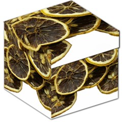Lemon Dried Fruit Orange Isolated Storage Stool 12