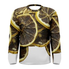 Lemon Dried Fruit Orange Isolated Men s Long Sleeve Tee