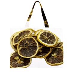 Lemon Dried Fruit Orange Isolated Large Tote Bag