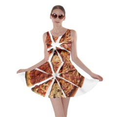Food Fast Pizza Fast Food Skater Dress