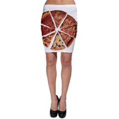Food Fast Pizza Fast Food Bodycon Skirt