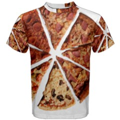Food Fast Pizza Fast Food Men s Cotton Tee