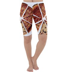 Food Fast Pizza Fast Food Cropped Leggings