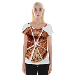 Food Fast Pizza Fast Food Women s Cap Sleeve Top