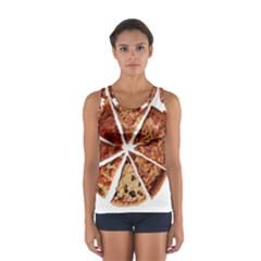 Food Fast Pizza Fast Food Women s Sport Tank Top