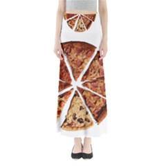 Food Fast Pizza Fast Food Maxi Skirts