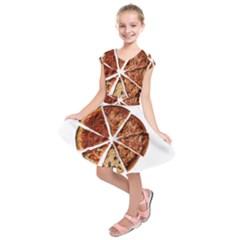 Food Fast Pizza Fast Food Kids  Short Sleeve Dress