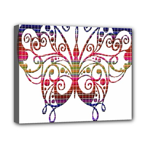 Butterfly Nature Abstract Beautiful Canvas 10  x 8