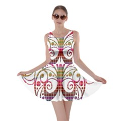 Butterfly Nature Abstract Beautiful Skater Dress