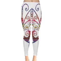 Butterfly Nature Abstract Beautiful Leggings