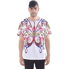 Butterfly Nature Abstract Beautiful Men s Sport Mesh Tee