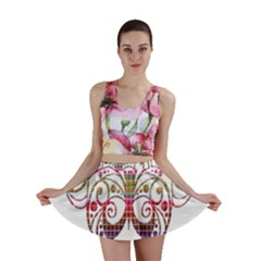Butterfly Nature Abstract Beautiful Mini Skirt