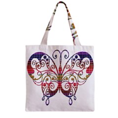 Butterfly Nature Abstract Beautiful Grocery Tote Bag