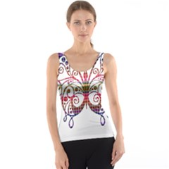 Butterfly Nature Abstract Beautiful Tank Top