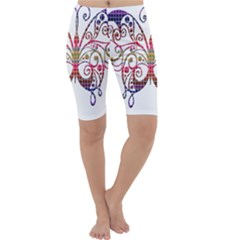 Butterfly Nature Abstract Beautiful Cropped Leggings