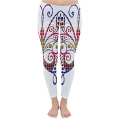 Butterfly Nature Abstract Beautiful Classic Winter Leggings
