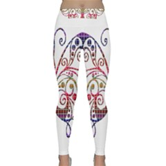 Butterfly Nature Abstract Beautiful Classic Yoga Leggings