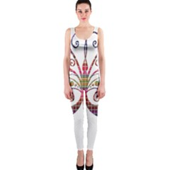Butterfly Nature Abstract Beautiful Onepiece Catsuit