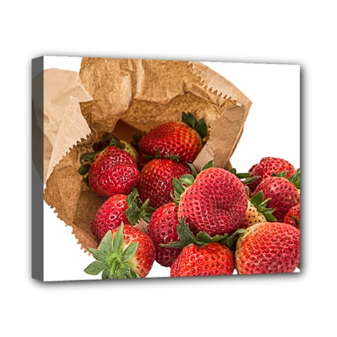 Strawberries Fruit Food Delicious Canvas 10  X 8