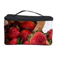 Strawberries Fruit Food Delicious Cosmetic Storage Case